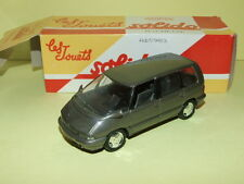 RENAULT ESPACE Gris 1991 SOLIDO boite carton