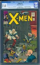 X-MEN 11 CGC 7.0 OW/W Silver Age Key Marvel Comic 1st Apperance Stranger L@@K