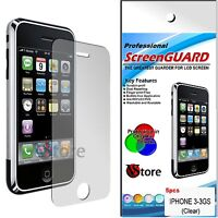 5 Pz Pellicole Per iPhone 3/3G/3GS/GS Proteggi Salva Schermo Display Pellicola