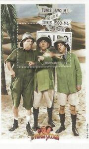 Mongolia - The Three Stooges Souvenir Sheet