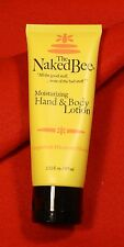 The Naked Bee (1) 2.25 oz Moisturizing Hand and Body Lotion Grapefruit Blossom