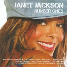 Icon: Number Ones by Janet Jackson (CD, Aug-2010, A&M (USA))