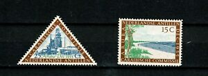 U0470 NETHERLANDS ANTILLES 1955 The 21st meeting of the Caribbean commission MNH