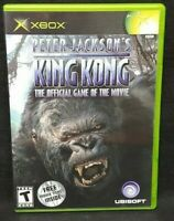 King Kong Peter Jackson  - Original Microsoft Xbox Game 1 Owner Near Mint Disc