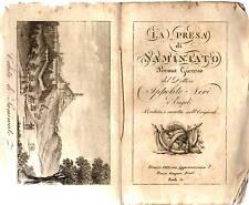 Libro La Presa di San Miniato Poema Giocoso Ippolito Neri Veduta Colle 1818