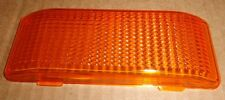 RV/Camper/Trailer - Porch / Utility Light Replacement Lens, AMBER