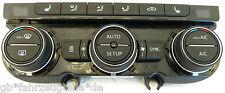 VW Touran Passat Klimabedienteil 5G0907044BE Standheizung+Sitzheizung Bj.14