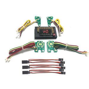 RC Car LED Linkage Light Kit for 1/10 Traxxas TRX4 Landrover Defender RC Crawler