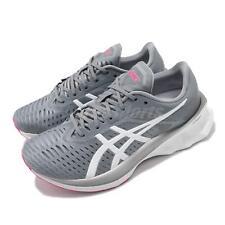 Asics Novablast Grey White Fuchsia Women Road Running Shoes FFBLAST 1012A584-020