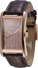 GENUINE Heritage Brown Dial Brown Leather Unisex Watch BU3000