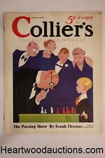 Collier's Oct 19, 1935 Alan LeMay; Frank Condon; Ernest Haycox