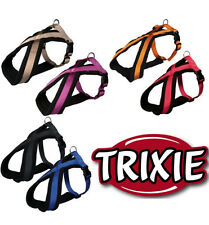 Trixie Premier Padded Dog Touring Harness Soft Fleece Lined Nylon Straps XS - XL
