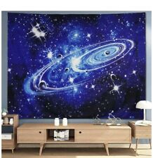 Tapestry Wall Hanging Starry Sky Fabric Wall Tapestry Home Decor Large New