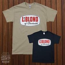 LeBlond Lathe T-Shirt (Rare Vintage Machine tool logo)