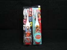 New Spinbrush Power Rangers and Elana Avalor Battery Toothbrush Arm & Hammer
