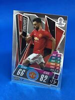 TOPPS MATCH ATTAX CHROME 2020-21 20/21 MANCHESTER UNITED BRUNO FERNANDES #17