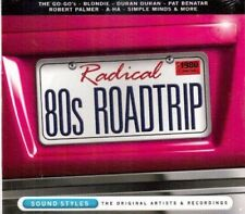 Radical 80s Roadtrip Blondie Pat Benetar The Go-Go's Billy Idol The Knack CD NEW