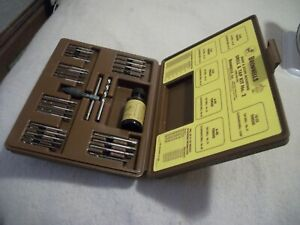 Vintage Brownells Gunsmith Drill & Tap Kit No. 2 - for Mounting Sights & Scopes