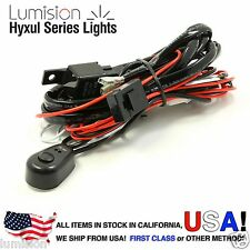 Lumision Wiring Harness Kit 12V DC 40A Relay ON/OFF Switch LED Work Light Bar