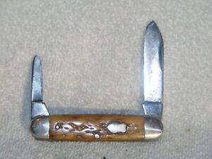 Vintage Remington Bone Double End Jack Knife - 1919-1940