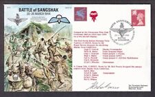 50Th Anniv. Battle Of Sangshak Great Britain #Wmmh60 Cover + Text 1994 Signed