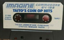 Taito Coin Op Hits (Imagine 1988) Commodore C64  Kassette (Tape) 100% ok Tape 1