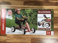 RADIO FLYER PEDAL RACER - FUN & FAST RACING - MODEL# 687 (NEW IN BOX)