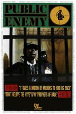 Public Enemy Poster It Takes A Nation Of Millions. Large Chuck D Flav Rap