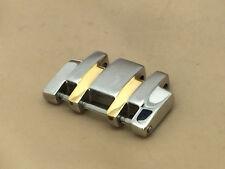 Bulova Model 98C60 Two Tone Men's Watch Extra Single Link 18mm (LL479)