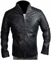 Noora Men Lambskin Leather Jacket Genuine Quilted Slim fit Biker S22