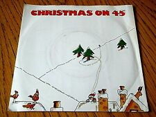 """HOLLY & THE IVY'S - CHRISTMAS ON 45  7"""" VINYL PS"""