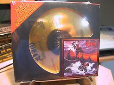 24k Gold CD AFZ-136 Dio Holy Diver Sealed # 2597/5000 Audio Fidelity