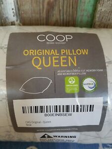 COOP Home Goods Queen Size Original Pillow