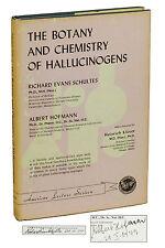 The Botany & Chemistry of Hallucinogens SIGNED by ALBERT HOFMANN  & Schultes LSD