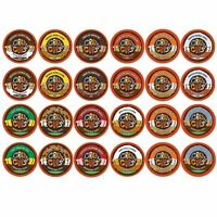 Crazy Cups Decaf Flavor Nation Flavored Lovers Coffee for Keurig K Brewers 48 Ct