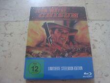 CHISUM Blu-Ray SteelBook NEW & SEALED John Wayne Forrest Tucker Ben Johnson