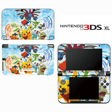 Vinyl Skin Decal Cover for Nintendo 3DS XL LL - Pokemon Mystery Dungeon Pikachu