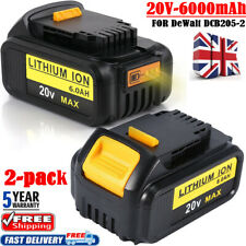 2x 18V Volt 6.0Ah Slide Li-ion XR Battery for Dewalt DCD785 DCB184 DCB182 DCF885
