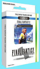 FINAL FANTASY X TRADING CARD GAME STARTER DECK Wind & Water NEW TCG Opus I