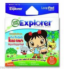 LeapPad 1 2 3, ULTRA, LEAPSTER GS & EXPLORER ~ NI HAO KAI-LAN Game LeapFrog