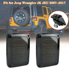 6000K LED Taillights Tail Light Fit for off-road Jeep Wrangler JK JKU 2007-2017