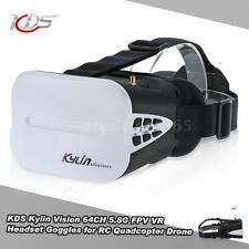 KDS Kylin Vision 64CH 5.8G 3D FPV RC Quadcopter Goggles 5 Inch VR Headset D2K0