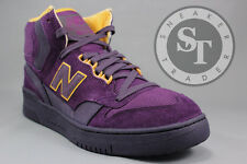 NEW BALANCE LIFESTYLE P740PPR PURPLE REIGN JAMES WORTHY PACKER GOLD SIZE: 9.5