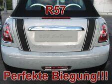 Streifen Boot Stripes Aufkleber Heckklappe f. BMW MINI COOPER One Works Jack R57
