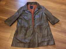 River Island Leather Jacket UK 14