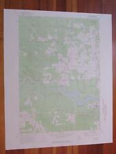 Mio Michigan 1974 Original Vintage USGS Topo Map