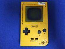 P5758 Nintendo Gameboy pocket console Yellow GBP Japan Express