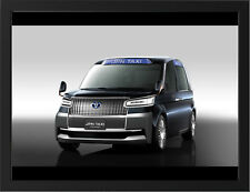"""TOYOTA JAPAN TAXI CONCEPT A3 FRAMED PHOTOGRAPHIC PRINT 15.7""""x11.8"""""""
