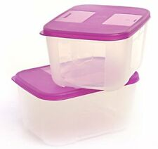 Tupperware Mini Mates 140 ML Plastic Freezer Mate Grocery Container- Pack of 2