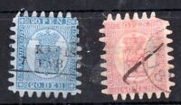 Finland 1866 20p & 40p SG36 SG40 good used WS10945